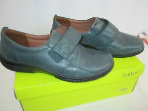 HOTTER DEEP TEAL COMFORT CONCEPT SHOES SIZE UK 6.5 BNIB