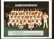 1973 MLB Baseball Houston Astros Team 8 1/2 X 11 Photo