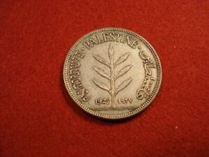 Palestine 100 Mils 1927 VF