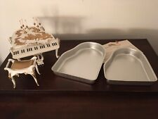 Vintage Wilton Grand Piano Cake Pans & Plastic Accents Accessories 1973 Bench +