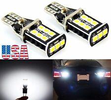 US 2Pcs T10 T15 Backup Reverse LED Light Bulbs for 2003-2016 Honda Accord Coupe