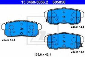 Arrière Plaquettes de frein pour MAZDA RX-8 1.3 03 /> 12 Coupé Wankel FE se 13B-MSP Comline