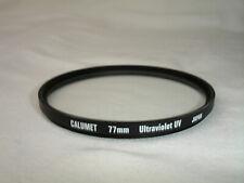 CALUMET  77mm UV Ultraviolet  filter  Japan