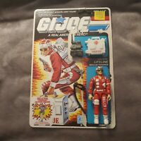 Vintage GI Joe Figure 1986 complete with full file card