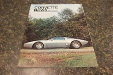 CORVETTE NEWS DEC/JAN 1971 MAGAZINE 9677-1 [BOX K] DDD #106