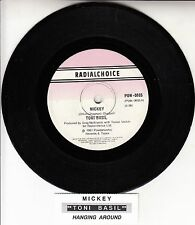 "TONI BASIL  Mickey  7"" 45 rpm vinyl record + juke box title strip"