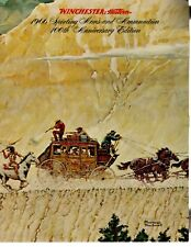 1966 Winchester 100Th Anniversary Catalog Norman Rockwell