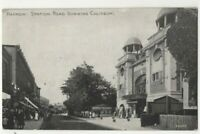 Harrow Station Road Showing Coliseum Middlesex 1924 Postcard 306c