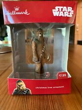 Hallmark 2016 Disney Star Wars Chewbacca Christmas Tree Ornament New In Box