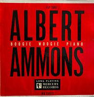 "RARE JAZZ 10"" LP ALBERT AMMONS BOOGIE WOOGIE PIANO OG FRENCH MERCURY MLP 7066"