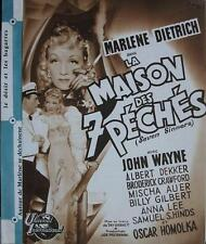 SEVEN SINNERS 1940 MARLENE DIETRICH / French PRESS BOOK
