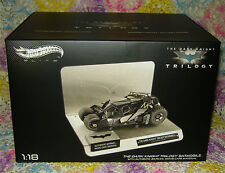 Batman Dark Knight Rises Elite Cult Classic 1:18 Scale Diecast Batmobile - NEW!