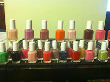 A LOT OF12 FULL SIZE BOTTLES ESSIE NAIL POLISH 0.5OZ ( PICK YOUR OWN 12COLORS )
