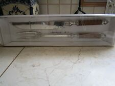 NEW IN BOX DECORATIVE CARVING SET KNIFE AND FORK FOR THAT SPECIAL OCCASION
