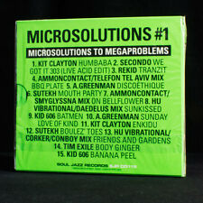NUEVO - microsolutions A megaproblems #1 - Soul Jazz - Música Cd Álbum