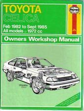 buy celica toyota car service repair manuals ebay rh ebay co uk 1990 Toyota Celica 2000 Toyota Celica