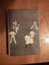 England V Australia A Guide to the Tests 1934 by J.C. Custard