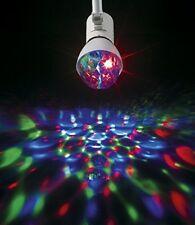 LED Partyleuchte mit 360° Rotation für E27-Fassung Disco Lichteffekt