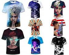 Rapper XxxTentacion 3D T-Shirt Men Fashion Hip Hop Revenge Vibes Kill Prayer Top