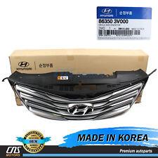 GENUINE Radiator Grille Front Bumper for 12-14 Hyundai Azera OEM 863503V000