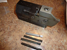 MANCHESTER MODULAR INDEXABLE TOOL HOLDER / PLUS 5 INSERTS