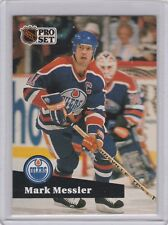 1991-92 (OILERS) Pro Set French #74 Mark Messier
