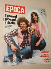 EPOCA=1977/1379=TONI VALERUZ=EMANUELA TRAPANI=ENRICO BERUSCHI=PIGAFETTA CAMION=