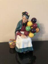Vintage Royal Doulton Porcelain Figurine Old Balloon Seller Hn 1315 England