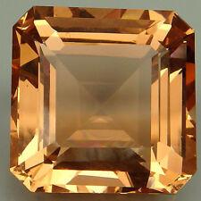 23.5ct. Shimmery!!! Peach Orange Morganite Emerald
