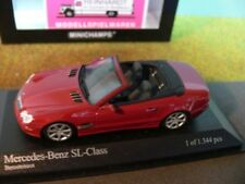 1/43 Minichamps MB SL-Class rot 400031032