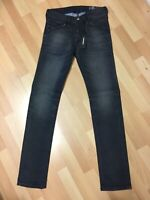 BOY Diesel BELTHER LYOCELL STRETCH DENIM 0684P DARK BLUE TAPERED SLIM W27 L32 H6