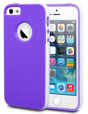 For iPhone 5 5s SE Slim Shockproof TPU Bumper Armor Rugged Soft Case Cover
