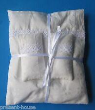 Bettenset Kissen, Decke, Laken  4 Teile Puppenhausmöbel Dekoration Miniatur 1:12