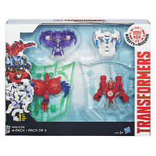 Transformers Robots in Disguise Mini-Con 4pack Hammer Undertone Anvil Slipstream