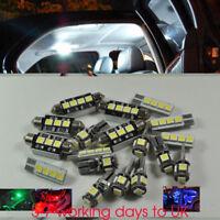 White 17 Lights SMD LED Interior kit For bmw E90 2006-2012 Sedan ONLY Error free