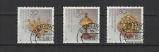1988 Allemagne Berlin profit d'oeuvres de bienfaisance 3 timbres oblitérés/T2259