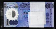 Libya 1 Dinar 2019, UNC, BUNDLE, Pack 100 PCS, POLYMER, P-New Design