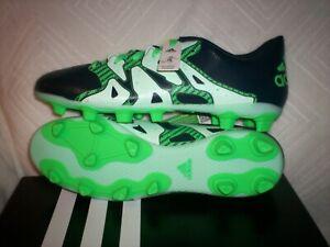 Adidas Women's X 15.4 FxG W Soccer Cleats New in Box Navy/Green B23683