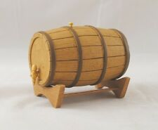 Wine Barrel / Keg dollhouse furniture T8576 1/12 scale Town Square Miniatures