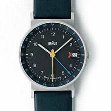 BRAUN ― Made in Germany ― Ø 33mm ― 3814 ― AW24 AW 24 ― GMT ― Wristwatch ― BLACK