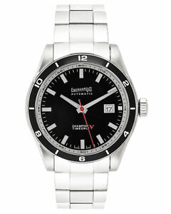EBERHARD CHAMPION V TIME ONLY AUTOMATIC MEN'S WATCH 41031.2S, MSRP: $3,350