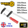 Adjustable F-Clamp Bar Clamp Quick Slide Woodwork Carpentry Tool VARIOUS SIZES