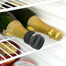 Metrokane Rabbit Wine Sealer, Velvet Black Champagne Bottle Stopper Cork Barware