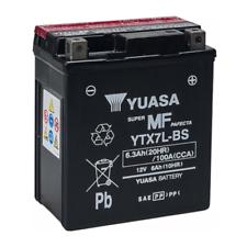Baterías Yuasa para motos Yamaha