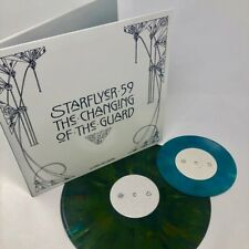 """Starflyer 59 THE CHANGING OF THE GUARD Color Vinyl LP Record w/7"""" 45 NEW"""