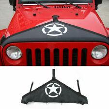 Engine Hood Bra Cover Protect for Jeep Wrangler JK 2007-17 Accessories Pentagram