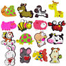 2Pcs Novelty Cute Cartoon Animals Fridge Magnet Rubber Fun Colorful .Deco oo,de