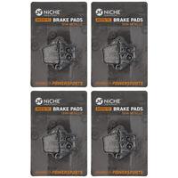 NICHE Brake Pad Set Honda CRF250RX CRF2250X CRF450R Rear Semi-Metallic 4 Pack