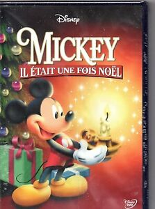 """DVD """"Mickey, il était une fois Noël"""" NEUF SOUS BLISTER"""