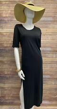 Women's Tavik PIA Midi Dress Vintage Black size Medium New Tillys